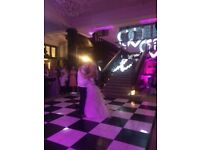 15x15ft Chequered Dance Floor £1000