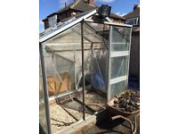 Greenhouse glass for small greenhouse