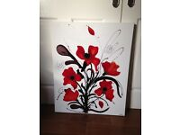 Original Flower Canvas