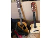 Two guitar for sale