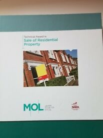 Course Material for Level 3 Award in Sale of Residential Property, NAEA AND ARLA