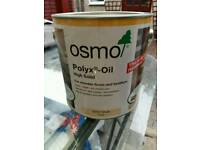3062 OSMO CLEAR SATIN POLYX HARDWAX FLOOR DOOR SOLID WOOD OIL 2.5L