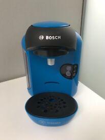 Blue Tassimo coffee machine
