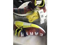 Adidas X Pharrell NMD Human Race Trail Multicolour Size UK 9