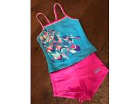 Girls 8yo swimsuit Tankini and Shorts from Zogg