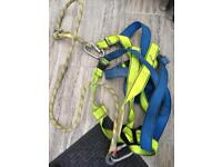 Safety harness and land yard