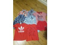 Kids shirts and converse tracksuit 2-3 year....