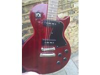Epiphone Les Paul Special-Electric Guitar in Wine Red- £125 (including padded gig case)