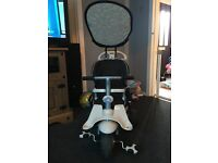 *SMART TRIKE 4IN1 RECLINER* cream and black