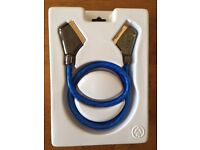 QED 1M scart cable AV2110 - boxed