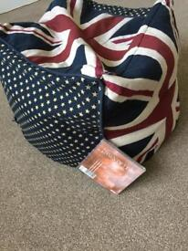 USA Flag Design bean bag