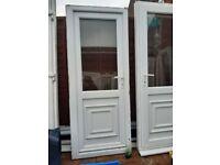 9 Upvc back door W79×H203
