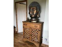 Antique pine living room unit