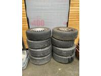 VW T5-T6 transporter wheels with tyres
