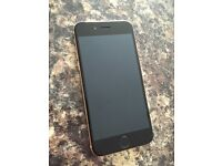 Apple IPhone 6 black and rose gold ee