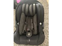 oyster babys car seat used once