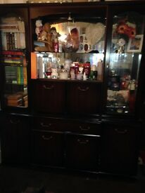 Large display wall unit. Free