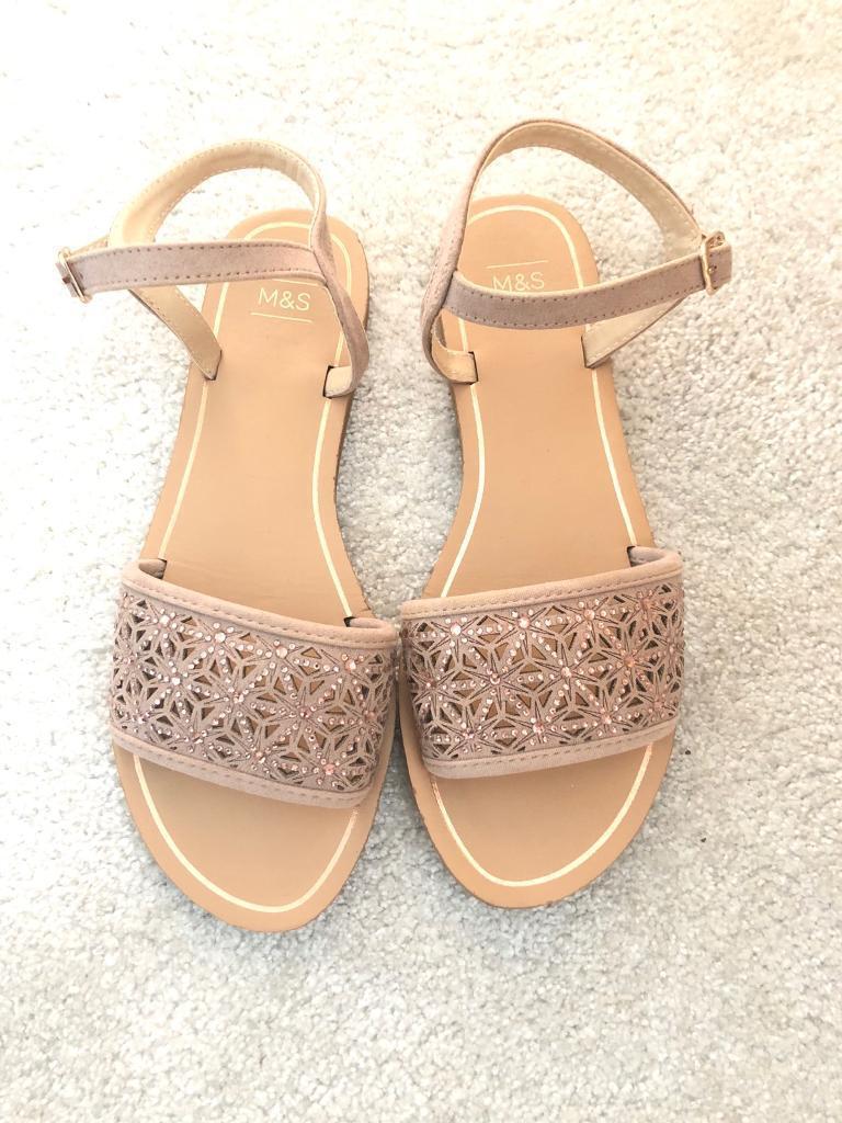 edc29df07c79df Brand New M S Ladies Sandal