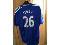John Terry signed shirt 2007/8 season