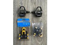 Shimano Road Cycling Pedals with 2x sets of Cleats