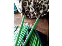 Weight exercise pound sticks for pound exercise class