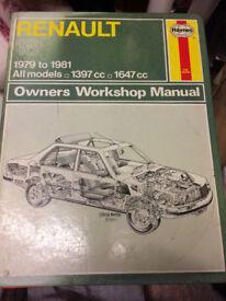 Renault Owners Workshop Manual 1979-1981