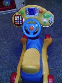 Vtech 2in1 ride on