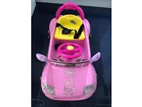 Toddlers Pink Peppa Pig 6v Electric Car