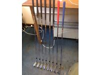 TAYLORMADE 300 SERIES FORGED IRONS / 3-PW / STIFF RIFLE 6.0 SHAFTS