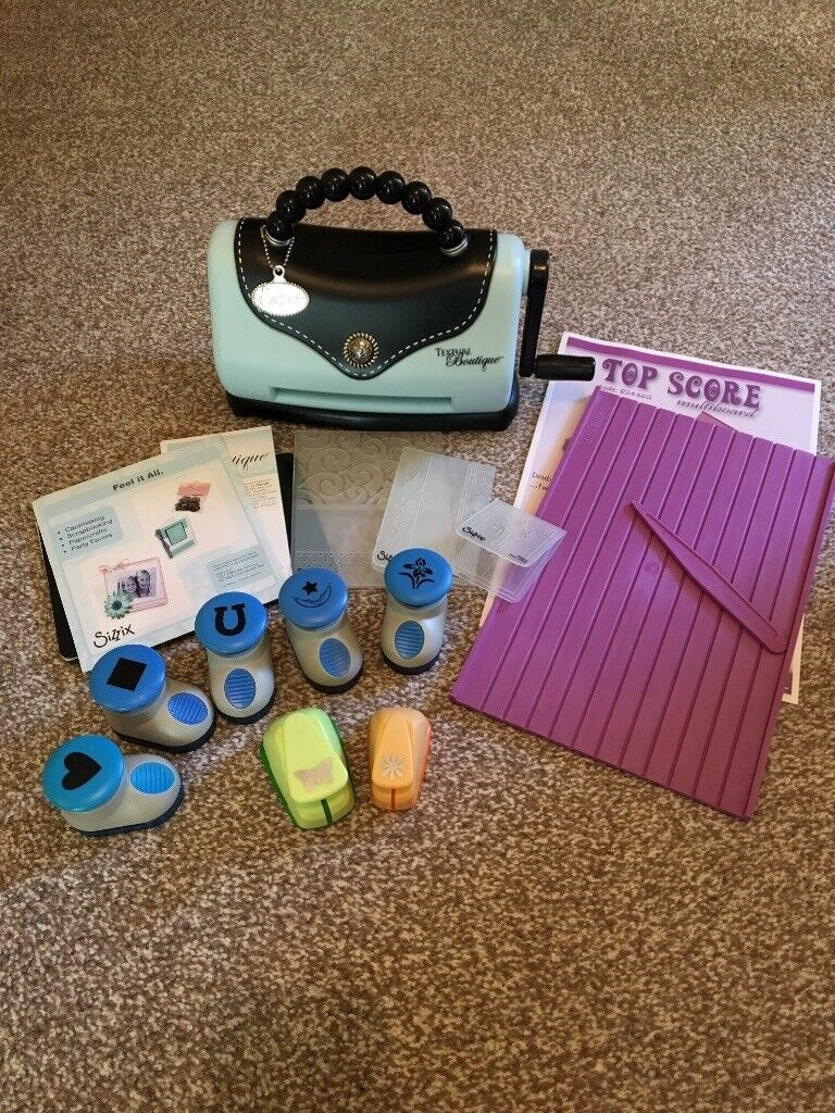 Sizzix embossing machine & die punches | in Ballyclare, County Antrim |  Gumtree