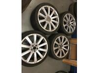 4 X 18 inch VW alloy wheels