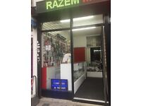 Mobile and laundry shop for rent Good Opportunity