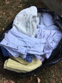 Newborn/ 0-3 baby clothes