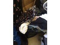 Bag of size 8 ladies clothes