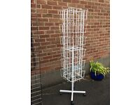 for sale - 2 display racks, 1 card stand - shop clearance - - market equipment - display stands