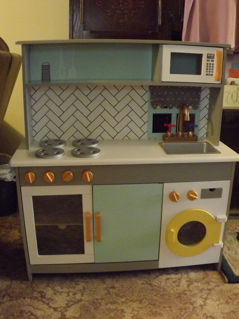 0f3355969e7c CHILDRENS DELUXE KITCHEN WITH WASHING MACHINE. | in ...