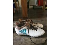 Adidas x 17.3 football boots white