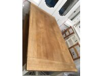 Laura Ashley Oak Dining Table Bench and Chairs
