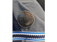 Beatrix Potter Mrs Tiggy Winkle 50p Coin