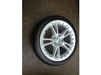 BMW Z4 E89 Alloy Wheel 2 Piece Style 294 with tyre 6mm 255 35 18 6785253
