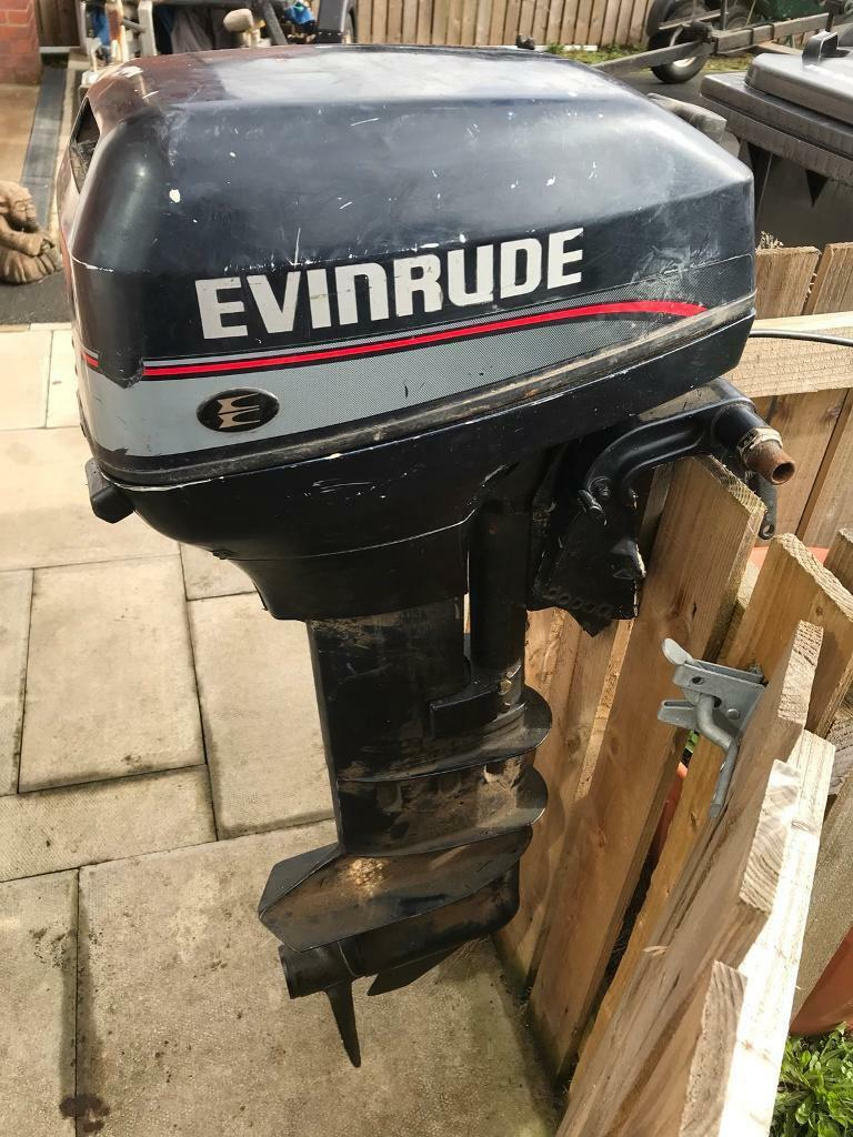 Evinrude 15 Hp 2 Stroke Electric Start