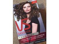 Vs Sassoon light neutral brown hair colour *new*