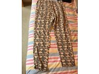 H&M tribal trousers, light feeling, size 38