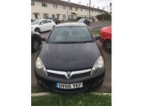 Black Vauxhall Astra 1.6 SXI Sport 3dr