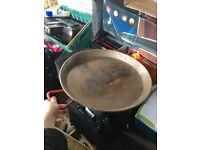 Paella pan large