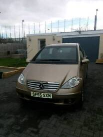 Mercedes A class 55 plate with only 83000 miles