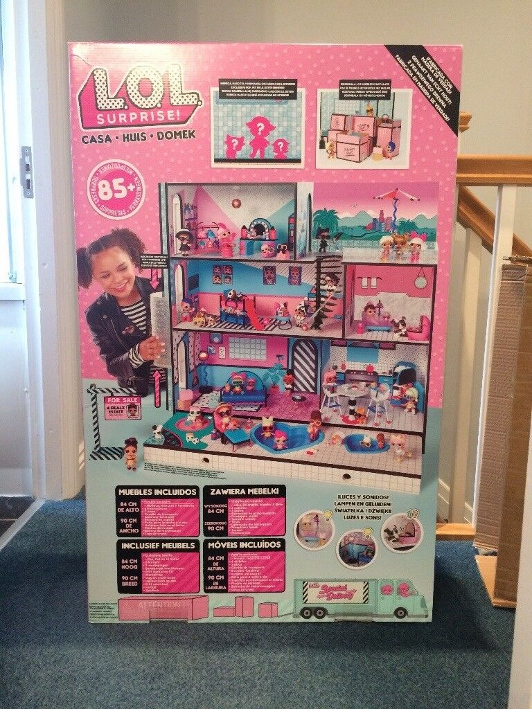 Lol Surprise Doll House Bnib Sold In Middlesbrough North