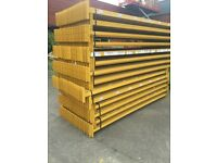 Link 51 Pallet Racking Beams. 2700mm £7.50 + vat