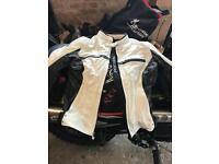 RICHA Leather Woman's Bike Jacket size8 reduced