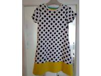 EXCELLENT condition mini boden girls dress 7-8 y